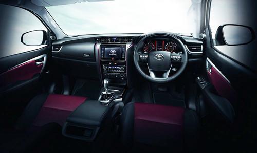 Cạnh tranh phân khúc SUV 7 chỗ, Toyota Fortuner bổ sung bản thể thao - ảnh 4