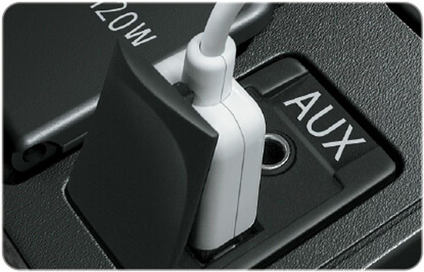 Cổng AUX-USB