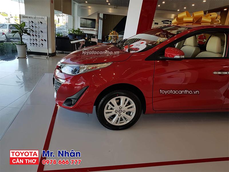 Toyota Vios 2019 Can Tho mau do